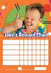 Personalised Mr Tumble Reward Chart (adding photo option available)